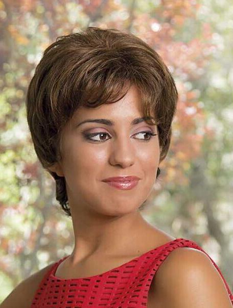 Layered Brown Fabulous Full Lace Wigs