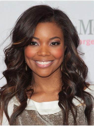 """Curly 16"""" Ombre/2 Tone Long Without Bangs Gabrielle Union Wigs"""