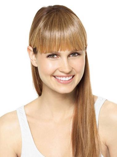 Clip In Blonde Affordable Fringe Wigs