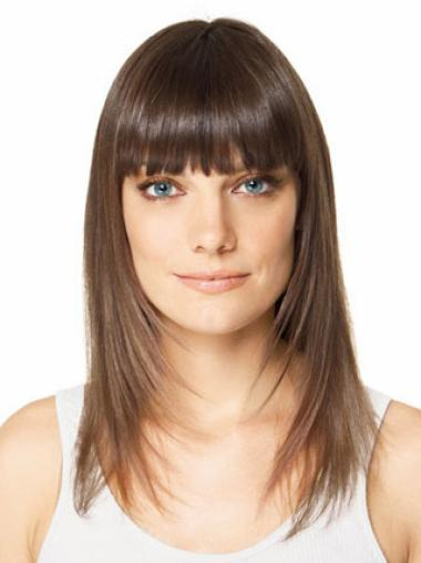 Synthetic Wonderful Straight Long Hairpieces
