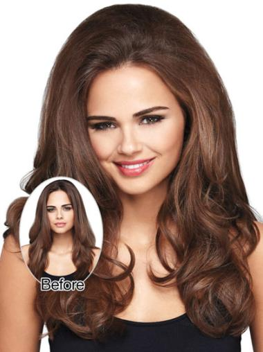 Synthetic Sassy Wavy Long Hairpieces