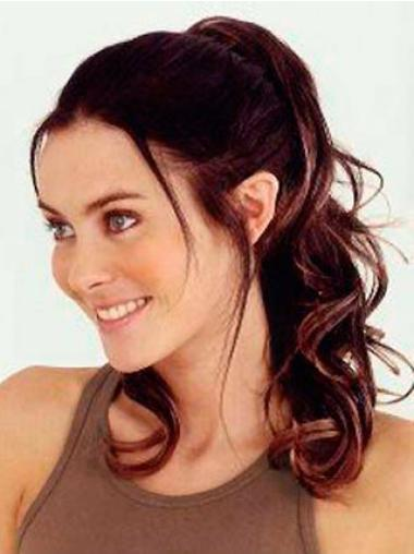 Synthetic Popular Wavy Clip-In Ponytails