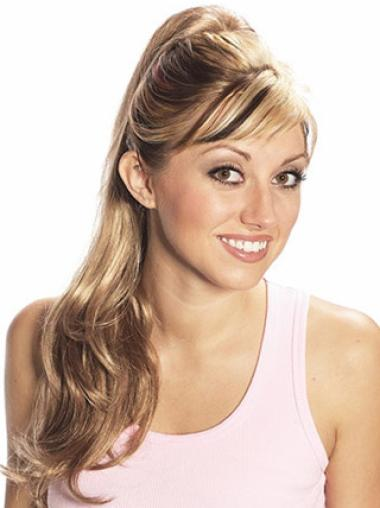 Synthetic Great Wavy Clip-In Ponytails