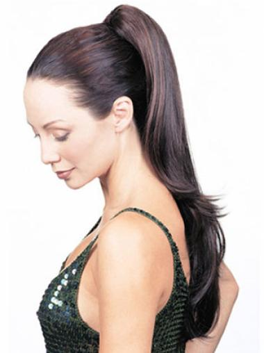 Synthetic Cheapest Straight Clip-In Ponytails