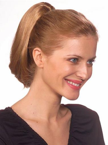 Short Straight Incredible Brown Synthetic Ponytails