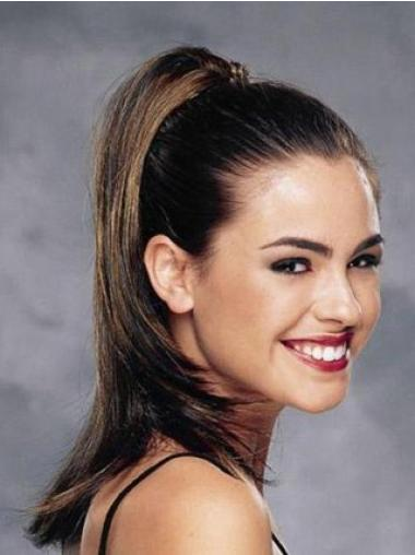 Synthetic Best Straight Clip-In Ponytails