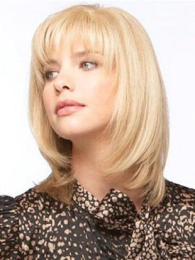 Blonde Straight Flexibility Human Hair