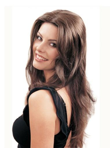 2014 Brown Straight Long Half Hairpieces