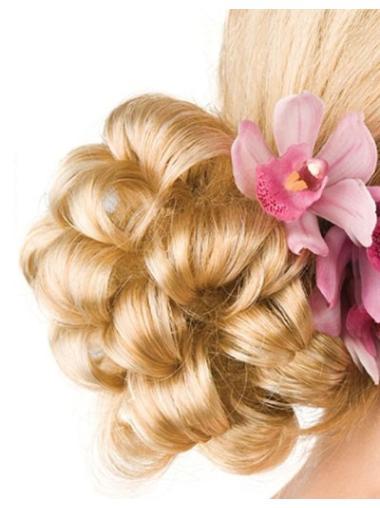 Clip In Blonde Sassy Hair Buns