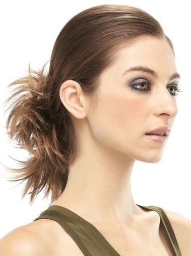 Clip In Brown Affordable Hair Buns