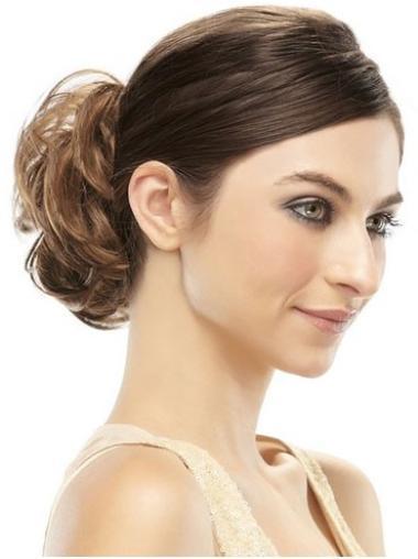 Clip In Brown Convenient Hair Wraps