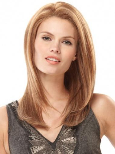 Blonde Straight Affordable Remy Human Hair Wigs