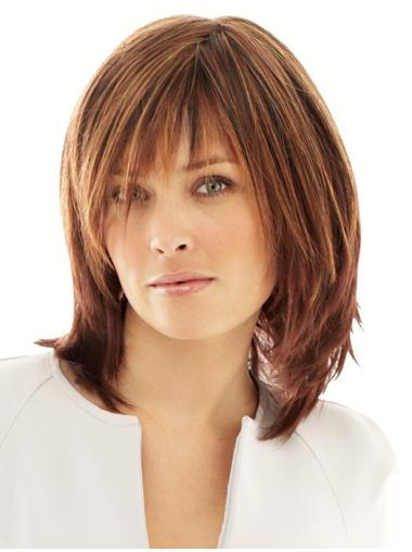 Layered Straight Online Synthetic Wigs