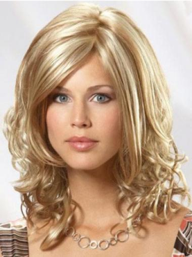 Full Lace Medium Blonde Cheap Wigs