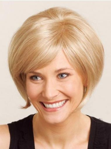 Full Lace Short Blonde Trendy Wigs