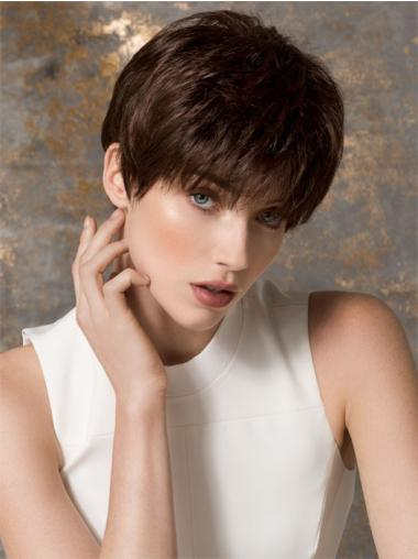 Sleek Straight Monofilament Wigs
