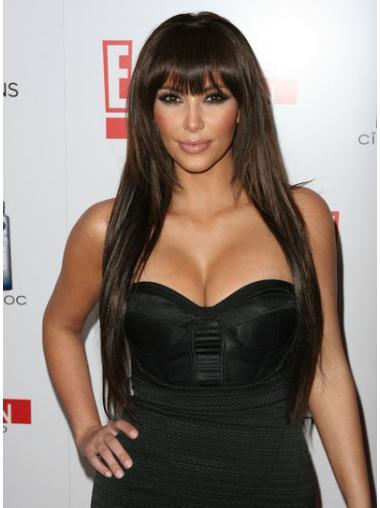 Straight Lace Front Trendy Kim Kardashian Wigs