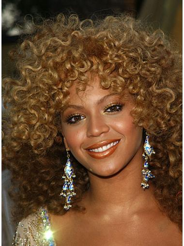 Curly Lace Front Sassy Beyonce Knowles Wigs