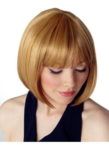 Blonde Capless Quality Bob Wigs