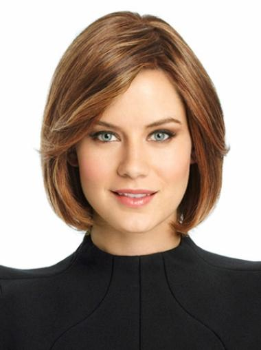 Blonde Lace Front Wonderful Bob Wigs