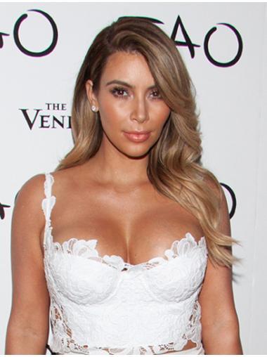 """Wavy Blonde 18"""" Flexibility Kim Kardashian Wigs"""
