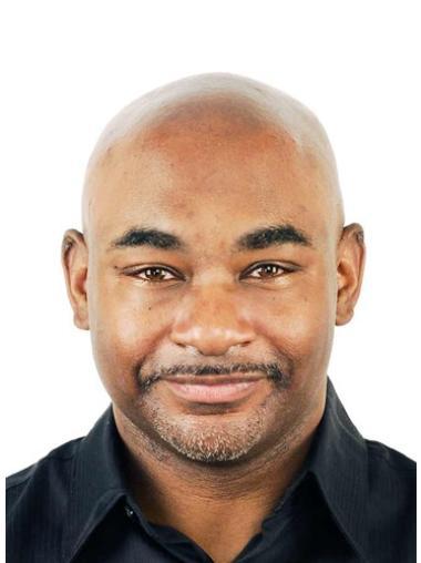 Remy Human Hair Stylish Black Men Toupees