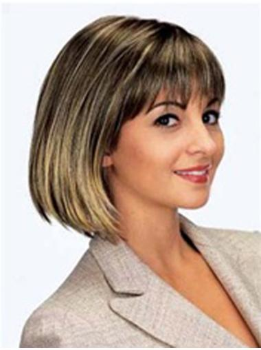 Buy Straight Synthetic Bobs Wig