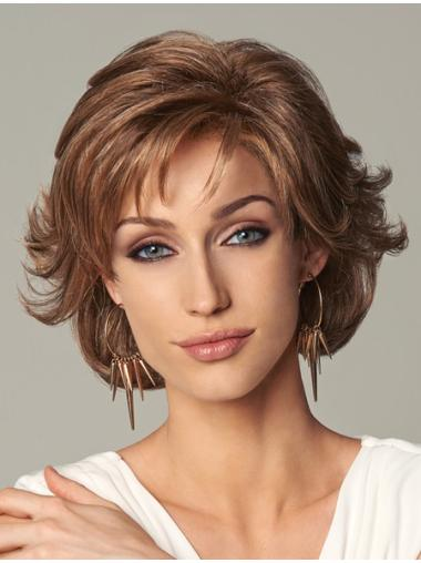 Wavy Blonde Layered Wigs For Cancer
