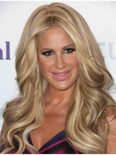 "18"" Capless Lace Front Top Kim Zolciak Wigs"