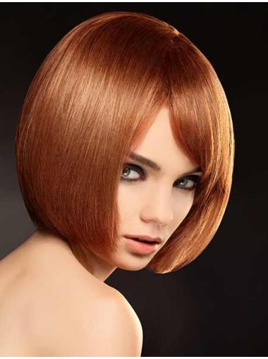 High Quality Bobs Auburn Full Lace Wigs