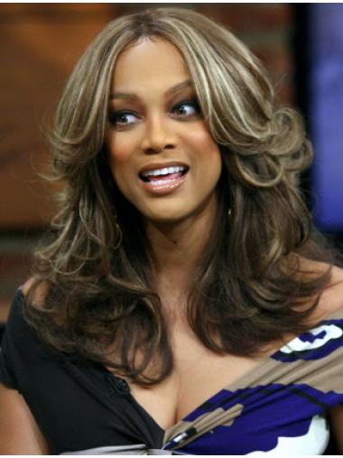 Blonde Lace Front Beautiful Synthetic Trya Banks Wigs