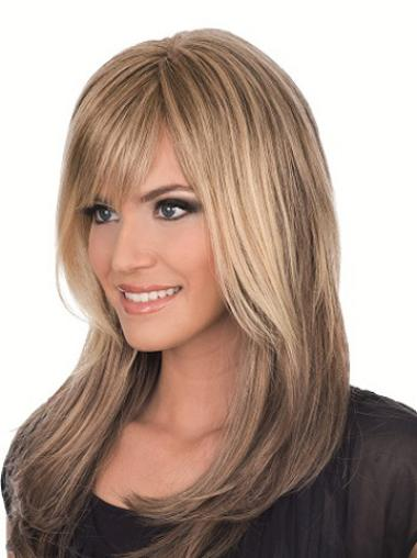 Blonde Straight Discount Remy Human Hair Wigs
