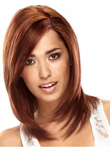 Auburn Straight Incredible Remy Human Hair Wigs