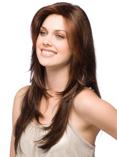 Auburn Wavy Classy Remy Human Hair Wigs