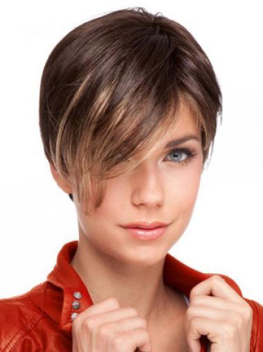 Auburn Straight 2014 Remy Human Hair Wigs