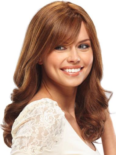 Auburn Wavy Great Remy Human Hair Wigs