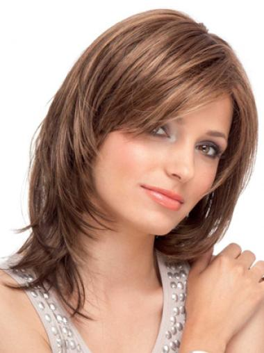 Blonde Straight Classy Remy Human Hair Wigs