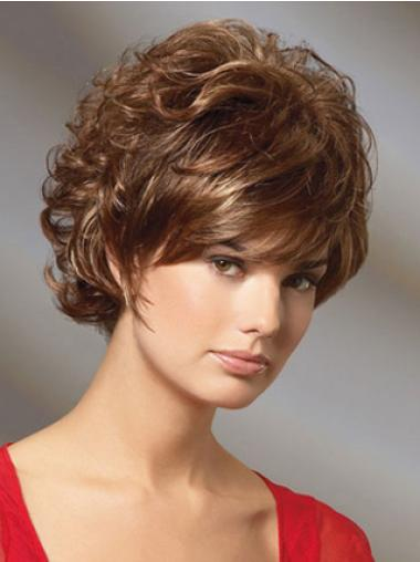 Capless Remy Human Hair Convenient Wigs