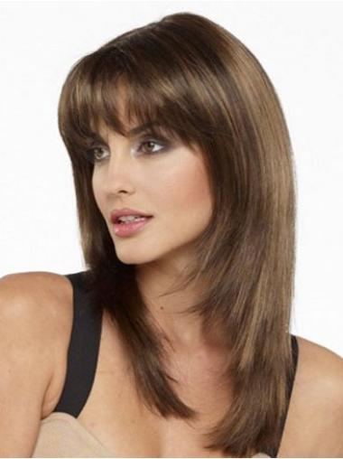 Capless Remy Human Hair Designed Wigs