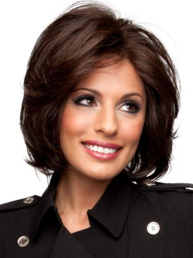Monofilament Remy Human Hair Suitable Wigs