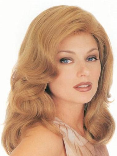 Monofilament Remy Human Hair Ideal Wigs