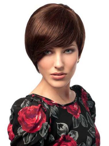 Capless Remy Human Hair Flexibility Wigs