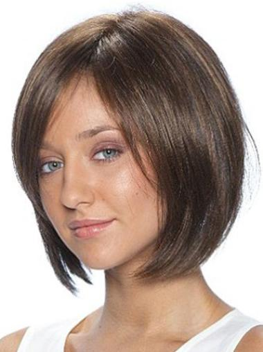 Lace Front Synthetic Affordable Short Straight Wigs