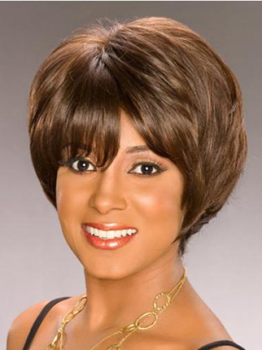 Capless Synthetic Affordable Short Curly Wigs