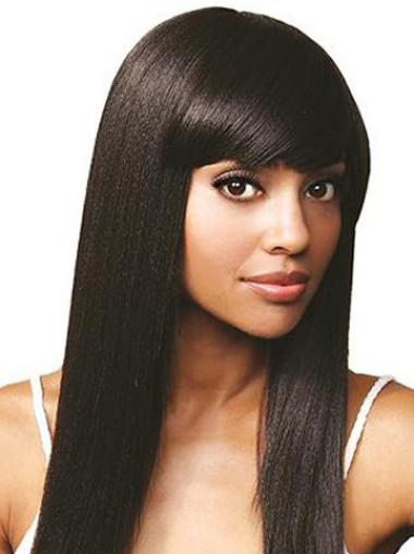 """Lace Front Remy Human Hair New 16"""" Straight Wigs"""