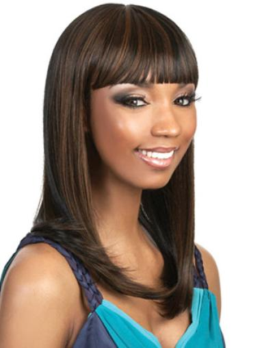Capless Synthetic Fashion Long Straight Wigs