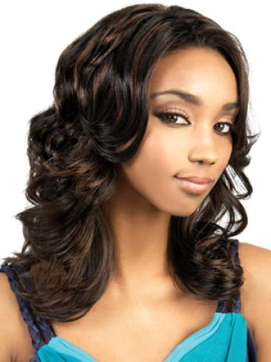 Capless Synthetic Ideal Long Wavy Wigs