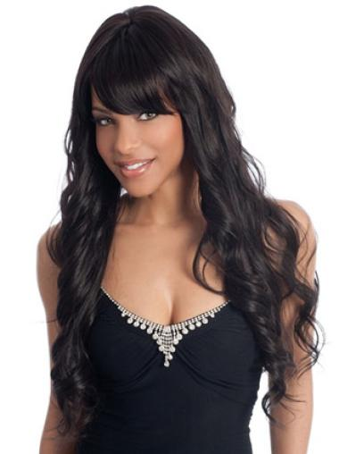 Capless Synthetic Designed Long Wavy Wigs