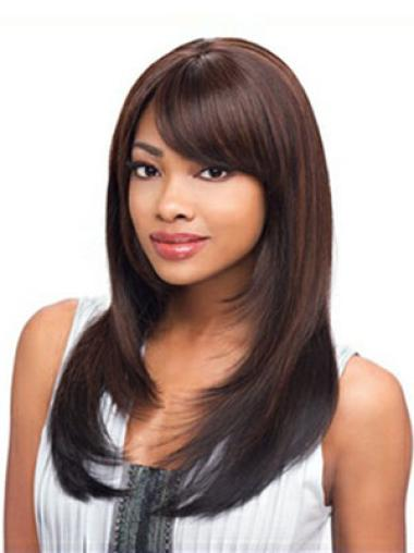 Capless Synthetic Suitable Long Straight Wigs