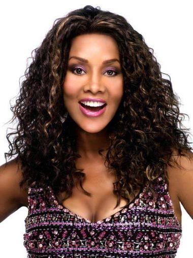 Lace Front Synthetic High Quality Long Curly Wigs